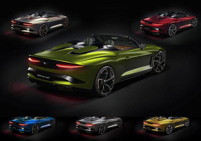 Her er seks unike biler. (Fotos: Bentley)