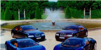 Her er de fire konseptene som førte til verdens råeste bil, Bugatti Veyron. (Fotos: Bugatti)