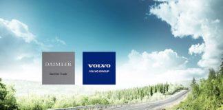 Daimler og Volvo finner nå sammen for å utvikle hydrogn-drivverk. (Fotos: Daimler)