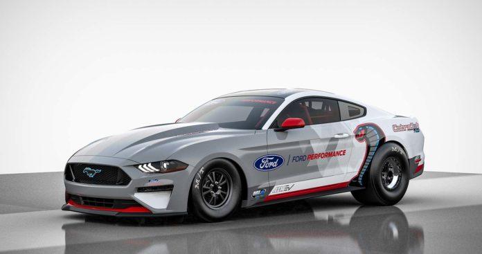Dette er historiens sterkeste Mustang. (Fotos: Ford)