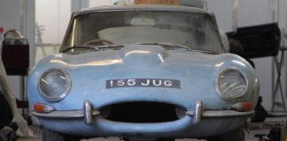 En heldiggris snublet over en Jaguar E-Type i en garasje, og heldigvis tok han grep og fikk den restaurert. (Fotos: E-Type UK)