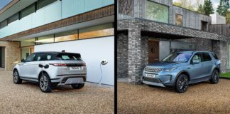 Jaguar Land Rovers to mest populære modeller kommer nå også som ladbare hybrider. (Fotos: JLR)