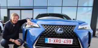 Lexus Norge-sjef Knut-Erik Jahnsen har en god nyhet til alle potensielle eiere av den kommende elbilen Lexus UX 300e. (Fotos: Lexus)