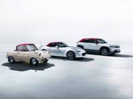 Mazda har rundet 100 år, og det feires med en rekke spesialutgaver. (Fotos: Mazda)