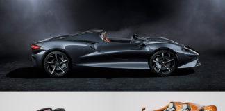 McLaren presenterte Elva (øverst) for noen måneder siden, og nå viser de to spesialmodeller av denne. (Fotos: McLaren)