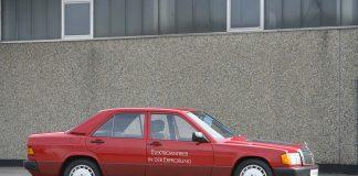 Mercedes viste tilbake i 1990 en helelektrisk bil. (Fotos: Daimler)
