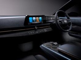 Dette konseptet fra Nissan har ikke en stor nettbrett-skjerm sentralt i konsollen, og det er et noen grunner til akkurat det. (Fotos: Nissan)