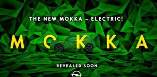 Opel kommer med en 2. generasjon av Mokka til neste år, og den første versjonen som blir klar er en helelektrisk versjon. (Foto: Opel)