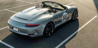 Denne muligheten dukker normalt aldri opp, for nå auksjonerer Porsche bort den aller siste bilen de laget i 991-serien til Porsche 911. (Fotos: Porsche)