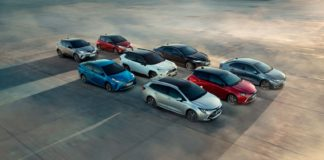 Toyota har rundet en stor milepæl med sine hybrider. (Fotos: TME)
