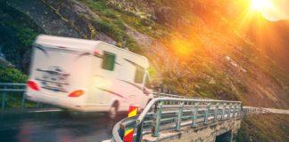 Tenkt sikkerhet om du tar Norges-ferien i en bobil. (Foto: Trygg Trafikk)