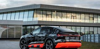 Audi e-tron holder koken selv om korona-viruset skaper trøbbel for nybilsalget. (Fotos: Audi)