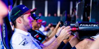 Daniel Abt jukset på gøy i en datasimulert racingserie, noe som ga alvorlige konsekvenser. (Fotos: Audi)