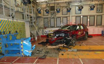 Euro NCAP skjerper nå kravene, og 5 stjerner henger enda høyere. (Fotos: Euro NCAP)