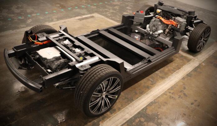 Karma sier at de kan lage elektriske pickuper på sin nye plattform. (Fotos: Karma)