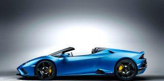 Lamborghini viser nå en bakhjulsdrevet og toppløs Huracán. (Fotos: Lamborghini)