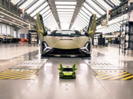 Lego har allerede klar en versjon av tidenes raskeste Lamborghini, Sián. (Fotos: Lego/Lamborghini)