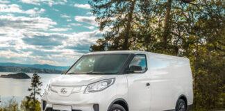 Denne elektriske varebilen har 600 nordmenn bestilt seg. (Foto: Maxus)