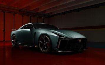 Dette er produksjonsmodellen av Nissan GT-R50 by Italdesign. (Fotos: Nissan)