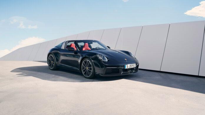 Porsche kommer nå med Targa-versjonen av den 8. generasjonen av 911. (Fotos: Porsche)