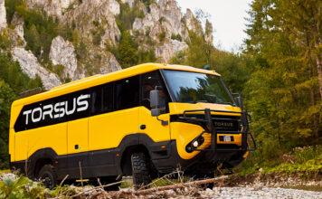 Dette er en buss helt utenom det vanlig. (Fotos: Torsus)