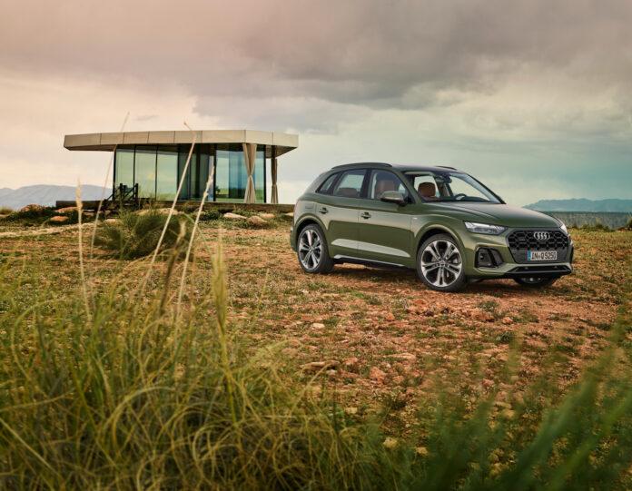 Audi Q5 har blitt ganske så nytt. (Fotos: Audi)