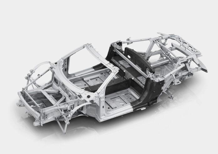 Audi bruker mye aluminium, men å produsere dette materialet fører til høye CO2-utslipp. (Fotos: Audi)