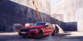 BMW har på gang en ny M5, og den kommer naturligvis også som Competition. (Fotos: BMW)