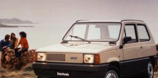 Fiat Panda har rukket å runde 40 år. Vi feirer med 40 bilder! (Fotos: Fiat)