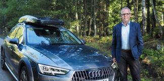 Det er rekordinteresse for bruktbiler, og Eirik M. Håstein hos Finn tror at det skyldes at mange skal på bilferie. (Foto: Caroline Roka, Finn)