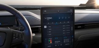 Ford kobler elbilen Mustang Mach-E til nettet, og det skal gi mer eksakt rekkevidde-info. (Fotos: Ford)