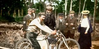 Forløperen til Skoda, Laurin & Klement, vant like godt VM for motoriserte tohjulinger. (Fotos: Skoda)