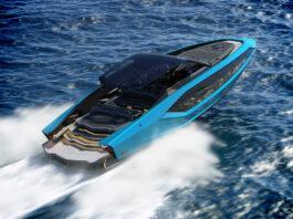 Lamborghini har av alle ting på gang en ny superbåt. (Fotos: Lamborghini)