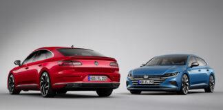 Volkswagen slår nå til med to nye utgaver Arteon, en R og en SHooting Brake. (Fotos: VW)