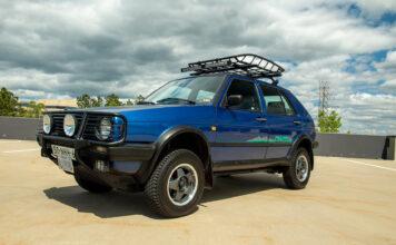 Dette er noe så unikt som den aller første crossoveren til Volkswagen. (Fotos: Volkswagen)