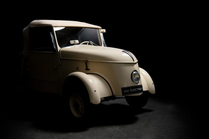 Krigen tvang Peugeot til å tenke nytt, og resultatet var en elektrisk bil kalt VLV. (Fotos: Peugeot)