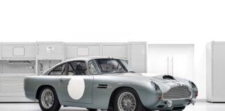 Denne splitter nye men også veldig gamle Aston Martin DB4 GT kommer nå for salg. (Fotos: Aston Martin)