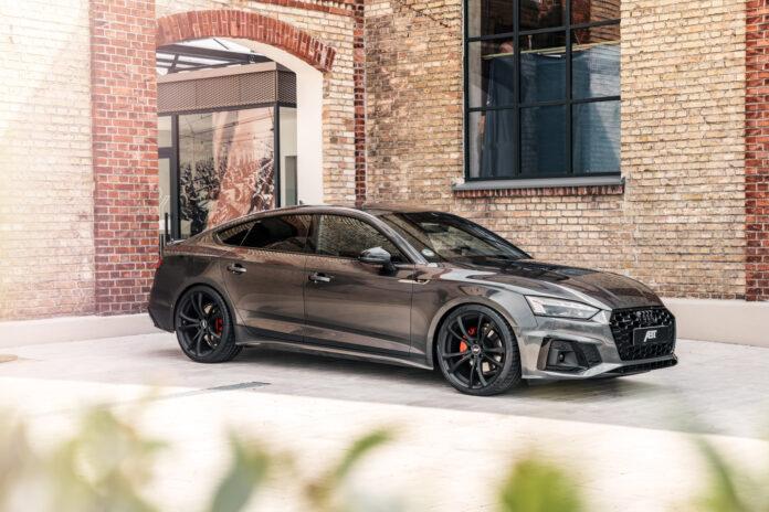 Sli har du neppe sett en Audi A5 før. (Fotos: ABT)