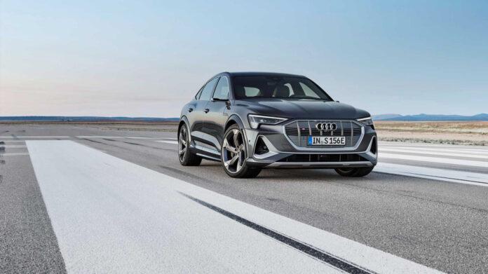 Audi har klar to S-utgaver av den populære elbilen e-tron. (Fotos: Audi)