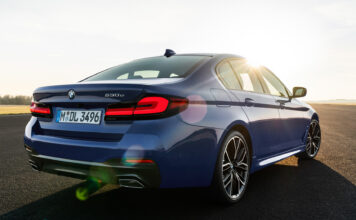 BMW har nå kommet med en ladbar 5-serie, og 530e byr på elektrisk rekkevidder på godt over 50 kilometer. (Fotos: BMW)