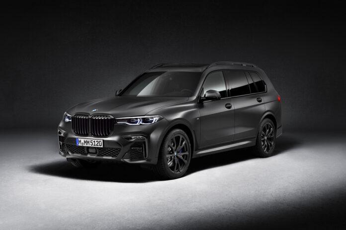 BMW kliner nå til med en spesialversjon av SUV-flaggskipet X7. (Fotos: BMW)