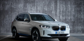 BMW har klar sin første helelektriske SUV-modell, en ganske kompakt iX3. (Fotos: BMW)