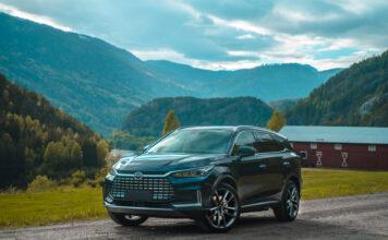 Her er BYD Tang, en helelektrisk SUV som snart inntar det norske markedet. (Fotos: BYD)