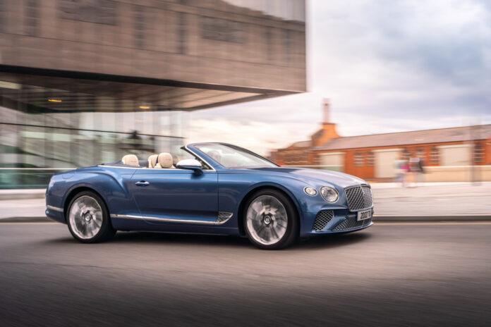 Dette er den nye dronningen av kabrioleter, Bentley Continental GT Mulliner Convertible. (Fotos: Bentley)