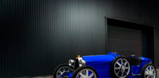 Her er Bugattis andre baby, enkelt nok kalt Baby II. (Fotos: Bugatti)