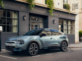 Citroën har lansert sin nye elbil, ë-C4. (Fotos: Citroën)