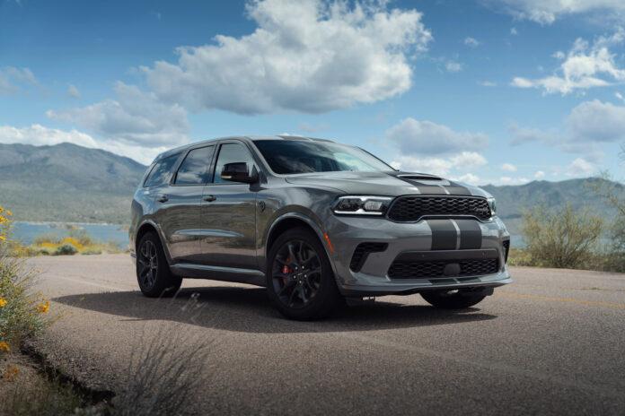 Her er verdens sterkeste serieproduserte SUV, Dodge Durango SRT Hellcat. (Fotos: FCA)