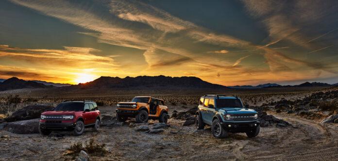 Sola står nå opp for Ford Bronco, en modell som forsvant i 1996. (Fotos: Ford)