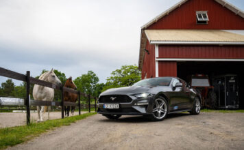 Mustangen er en allrounder som passer til mer enn du kanskje tror. (Foto: Nybiltester/SB Automotive)