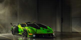 Lamborghini slår til med et grønt troll av en hyperbil. (Fotos: Lamborghini)